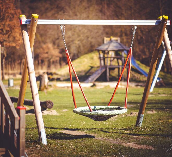 Corona Zeit - Leere Spielplatz
