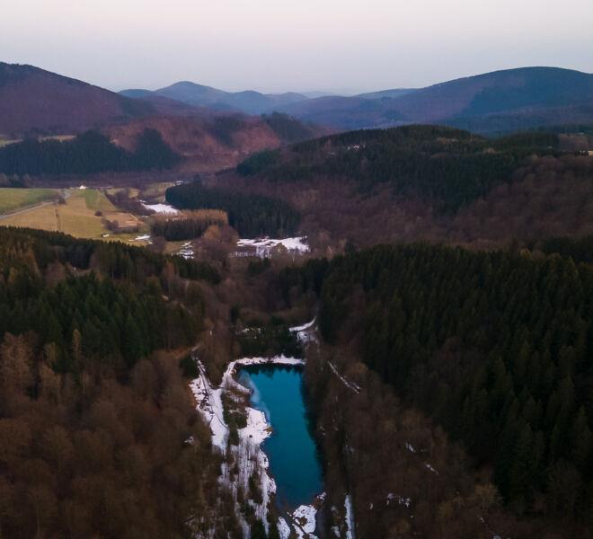 Die Welt von Oben -Drohnenfotografie - Winterberg Sauerland