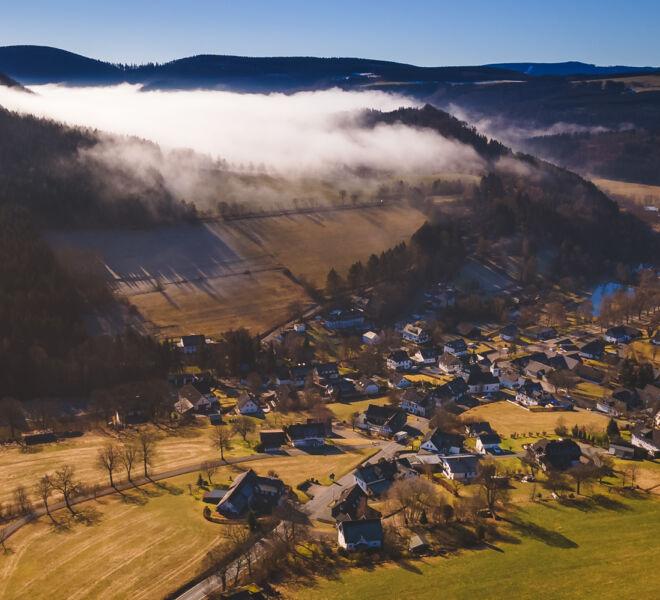 Die Welt von Oben -Drohnenfotografie - Elkeringhausen