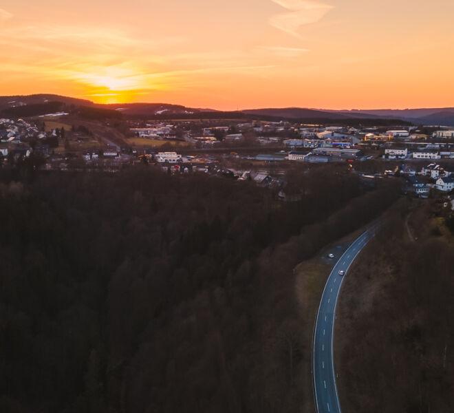 Die Welt von Oben -Drohnenfotografie - Winterberg