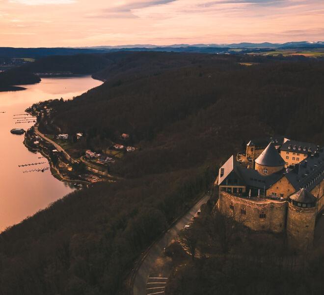 Die Welt von Oben -Drohnenfotografie - Edersee Hessen