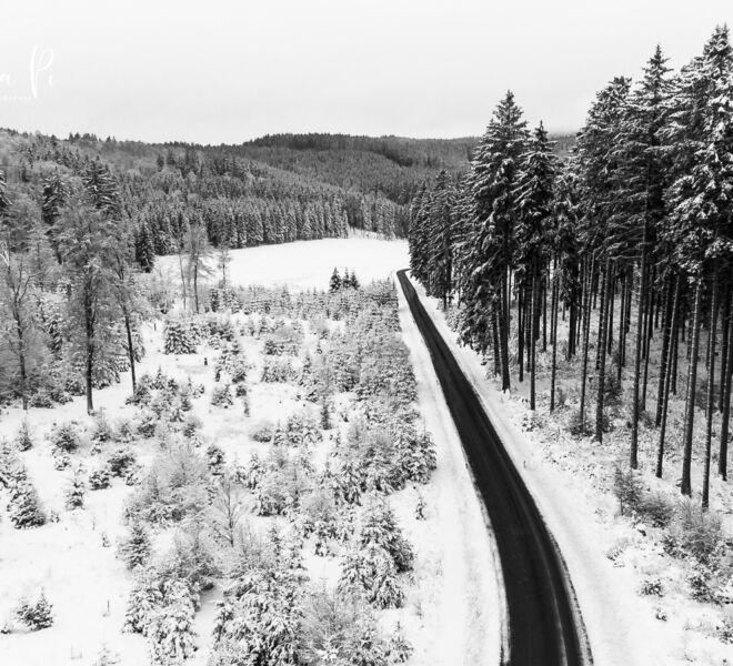 Winterberg im Sauerland von Oben