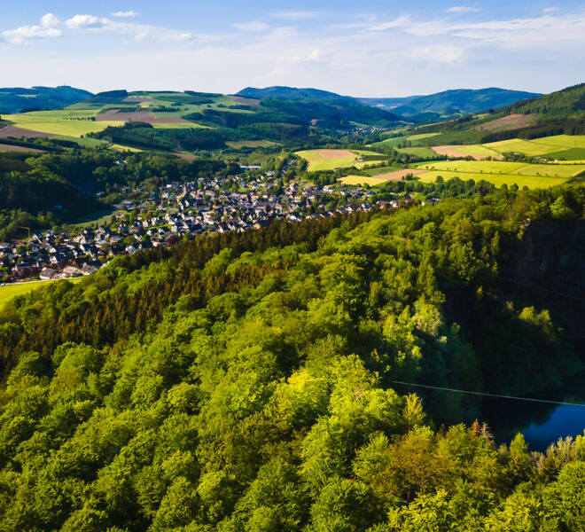 Winterberg Siedlinghausen von Oben