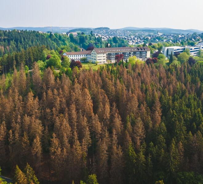 Winterberg von Oben - Drohnenfotografie