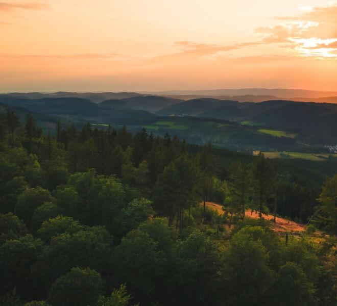 Sauerland von Oben - Drohnenfotografie