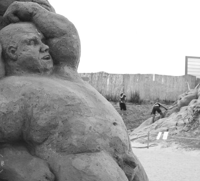 Berlin Sandskupturen