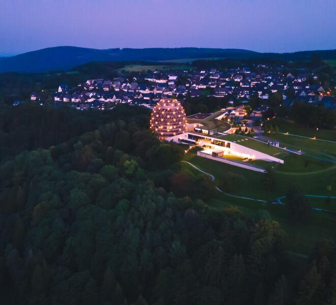 Winterberg von Oben